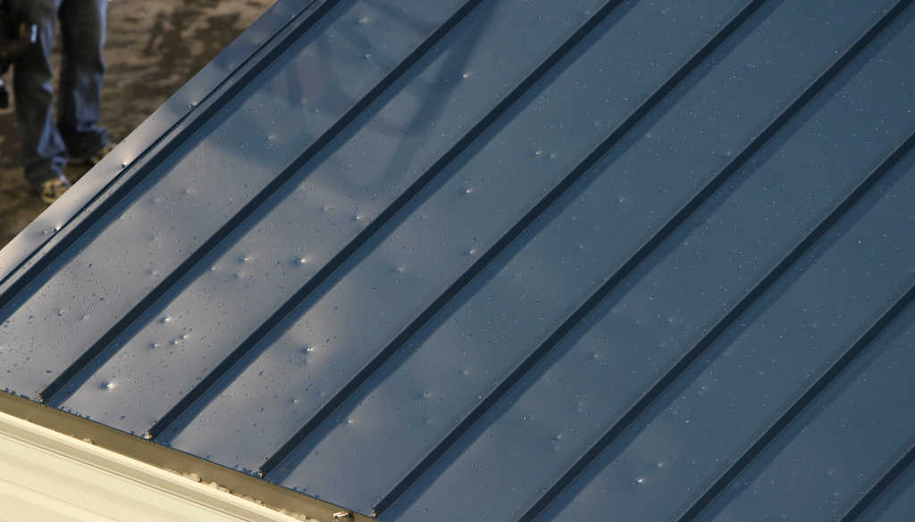 photo of hail damage to a roof in san antonio
