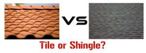 Tile Roofs or Shingle Roofs