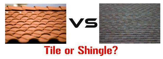 Tile Roofs or Shingle Roofs?