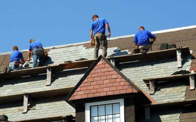 The homeowner & roof repairs.