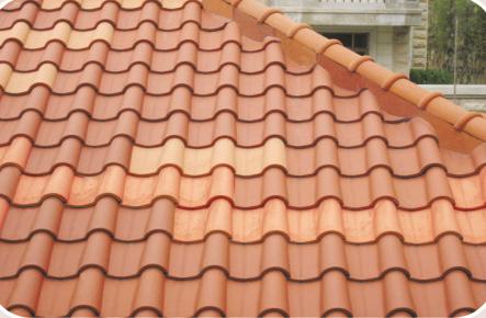 spanish tile roof